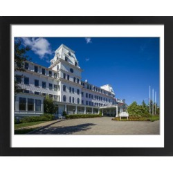 Large Framed Photo. USA, New Hampshire, New Castle, Wentworth By
