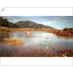 10 inch Photo. East Tasmanian secluded Honeymoon Bay found on Bargain Bro Philippines from Media Storehouse for $16.64