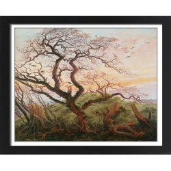 Large Framed Photo. The Tree of Crows, 1822 (oil on canvas) found on Bargain Bro Philippines from Media Storehouse for $180.45