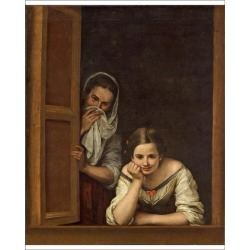10 inch Photo. Women from Galicia at the Window, c.1655-1660 found on Bargain Bro Philippines from Media Storehouse for $16.64