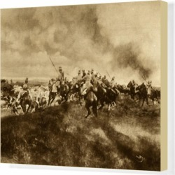 Box Canvas Print. WW1 - Eastern Front - German Cavalry found on Bargain Bro Philippines from Media Storehouse for $177.89