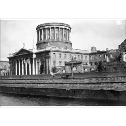 A1 Poster. Dublin. The Four Courts. August 1923 Note bomb damage found on Bargain Bro Philippines from Media Storehouse for $76.34