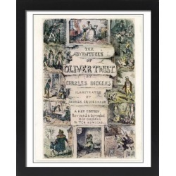 Large Framed Photo. Oliver Twist/Title Page found on Bargain Bro Philippines from Media Storehouse for $180.45