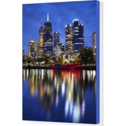 Box Canvas Print. Financial district of Melbourne and River found on Bargain Bro Philippines from Media Storehouse for $180.76