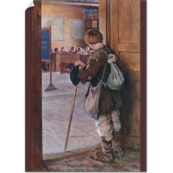 A1 Poster. Peasant boy at the Door of the School found on Bargain Bro Philippines from Media Storehouse for $76.34