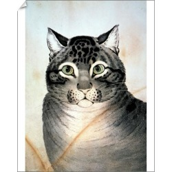 10 inch Photo. CURRIER & IVES: CAT. The Favorite Cat.