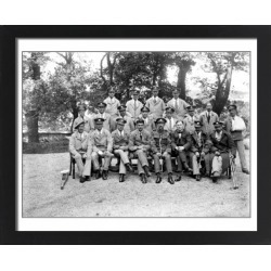 Large Framed Photo. Wounded soldiers in uniform, unknown found on Bargain Bro Philippines from Media Storehouse for $180.45