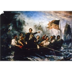 A1 Poster. PERRY: NAVAL BATTLE, 1813. Oliver Hazard Perry found on Bargain Bro Philippines from Media Storehouse for $76.34