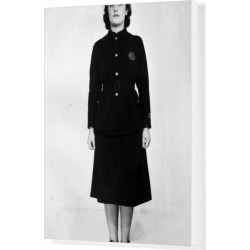 Box Canvas Print. Firewomans uniform of the NFS, WW2 found on Bargain Bro Philippines from Media Storehouse for $180.45