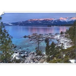 A1 Poster. USA, California, Lake Tahoe. Lake overview at sunrise found on Bargain Bro Philippines from Media Storehouse for $76.34