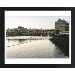 Large Framed Photo. Charles Bridge, the Castle District and St found on Bargain Bro Philippines from Media Storehouse for $180.45
