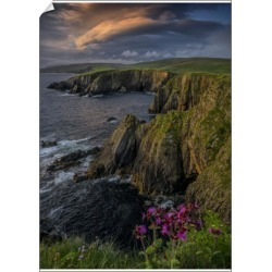 A1 Poster. Scousburgh coastline at Dusk, Shetland Islands, found on Bargain Bro Philippines from Media Storehouse for $76.34