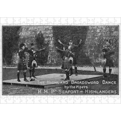 252 Piece Puzzle. Highland Broadsword Dance - 1st Seaforth found on Bargain Bro Philippines from Media Storehouse for $45.80