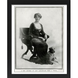 Large Framed Photo. Lady Castlereagh (later Lady Londonderry) by