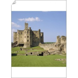 A1 Poster. Warkworth Castle dating from Medieval times, found on Bargain Bro Philippines from Media Storehouse for $76.34