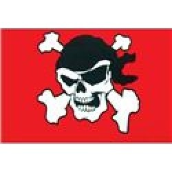 Stiffy Legal Pirate Replacement Flag