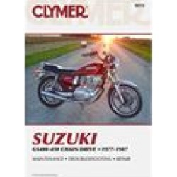Clymer Street Bike Manual - Suzuki GS400-450 Chain Drive found on Bargain Bro Philippines from chaparral-racing.com for $29.62