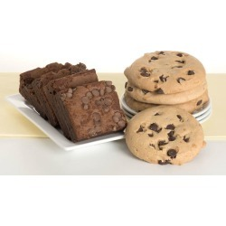 David's Gluten Free - Dairy Free - Chocolate Chip Cookie Brownie Combo (4 each)
