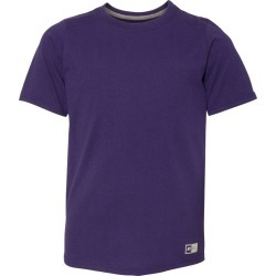 Russell Athletic - Youth Essential 60/40 Performance Tee - 64STTB - Purple - Medium