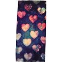 Hair Glove Watercolor Hearts Light Weight EZ Tube