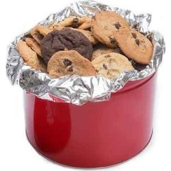 Fresh Baked Cookies 4 lb Tin - flavor: Assorted Flavors