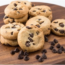 Preformed Frozen Gluten Free Cookie Dough - Chocolate Chip - Two 32oz Boxes