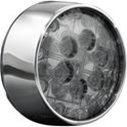Kuryakyn LED Rear Turn Signal Inserts; 2-Circuit Bullet Style with Chrome Bezels and Smoke Lenses found on Bargain Bro India from chaparral-racing.com for $143.54