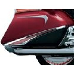 Kuryakyn Saddlebag Accent Swoop With L.E.D. Lights For Honda Goldwing