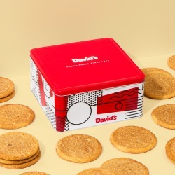 Fresh Baked Snickerdoodle Cookies - size: 2lb Signature Cookie Tin