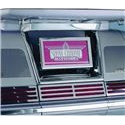 Show Chrome License Plate Holder