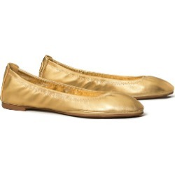 Eddie Metallic Ballet Flat