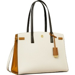 Tory Burch Walker Color-Block Satchel found on MODAPINS from Tory Burch US for USD $478.00