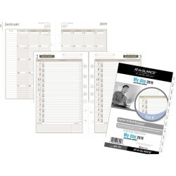 At-A-Glance Day Runner 1-Page-Per-Day Planner Refill Size 4 -