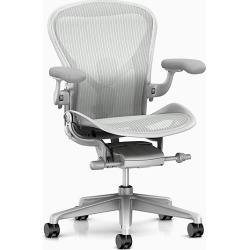 Aeron Chair - Grey, Size C Large found on MODAPINS from herman miller for USD $1495.00