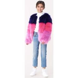 DVF Sula Faux-fur Jacket