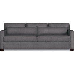 Vesper King Sleeper Sofa, Grey Fabric by Design Within Reach