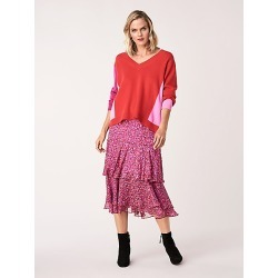 DVF Meg Silk Chiffon Tiered Midi Skirt found on Bargain Bro Philippines from Diane von Furstenberg US - Dynamic for $498.00