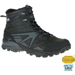 Merrell Men's Capra Glacial Ice+ Mid Waterproof Winter Boots - Black/Grey found on Bargain Bro India from atmosphere.ca for $113.03