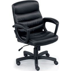 Stellar Mid Back Conference Chair in Faux Leather - Officient found on Bargain Bro Philippines from officefurniture.com for $253.00