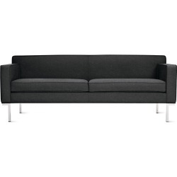 Theatre Sofa, Charcoal Fabric by Design Within Reach