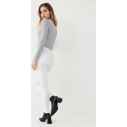 Women's Halle Super Skinny Jean | Optic White | Size 28 | True Religion