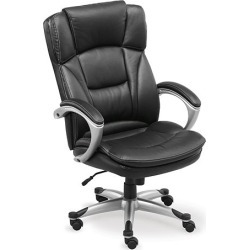 Omega Leather Executive Chair - Officient found on Bargain Bro Philippines from officefurniture.com for $637.00