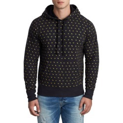 Men's TR Monogram Pullover Hoodie | Black | Size XX Large | True Religion