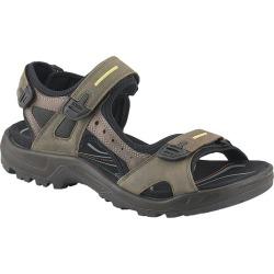 Ecco Men's Yucatan Sandals - Tar/Rock
