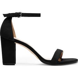 Stuart Weitzman - The Nearlynude Sandal In Black - Size 39 found on Bargain Bro UK from Stuart Weitzman UK
