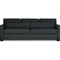 Vesper King Sleeper Sofa, Charcoal Fabric by Design Within Reach