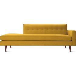 Bantam Studio Sofa, Yellow Fabric by Design Within Reach