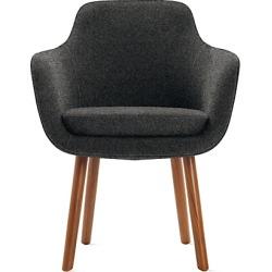 Geiger Saiba Dining Chair, Black at DWR