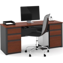 Bestar Prestige Plus Kneespace Credenza (OFG-CR0014) found on Bargain Bro Philippines from officefurniture.com for $639.00