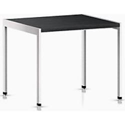 H Frame Side Table - Brown